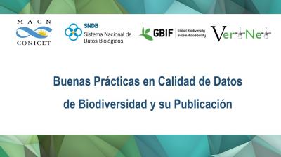 C17-SNDB  Buenas Prácticas en Calidad de Datos de Biodiversidad y su Publicación - Buenos Aires, Argentina - 2018